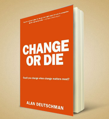 change or die book cover